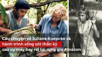 Hành trình sống sót thần kỳ của cô bé 17 tuổi sau vụ máy bay rơi tại rừng già Amazon