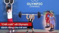 'Chết cười' với Olympic dành riêng cho trẻ em siêu dễ thương