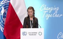 Cô gái 15 tuổi gây chấn động Hội nghị toàn cầu về biến đổi khí hậu với bài phát biểu đanh thép