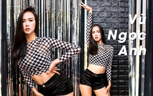 Diễn viên Vũ Ngọc Anh nóng bỏng nhảy sexy dance trên giày cao gót