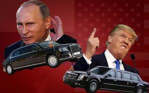 Đọ siêu xe limosine của Tổng thống Mỹ Donald Trump và Tổng thống Nga Vladimir Putin