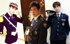 6 Korean stars wearing high quality uniforms