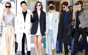 Ha Ji Won, Park Bo Gum and Choi Jin Hyuk landed at Incheon International Airport