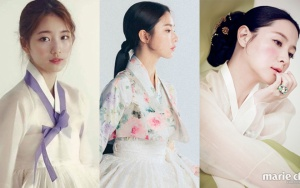 [K-Star]: Look a series of Korean beauties in Hanbok costumes, who deserves the most beauty?