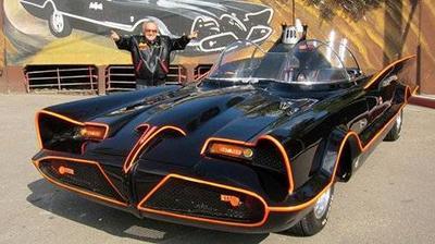 Chiếc xe dơi của Batman và chuyện bản quyền từ phim ảnh