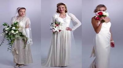 Váy cưới thay đổi như thế nào trong vòng 100 năm