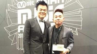 MAMA 2015: Phúc Bồ bất ngờ đoạt giải 'Nhà sản xuất âm nhạc' cùng JYP