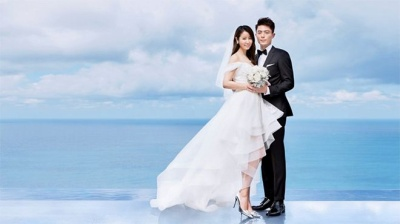 Ngắm trọn bộ ảnh cưới đơn giản mà vẫn tuyệt đẹp của Lâm Tâm Như - Hoắc Kiến Hoa