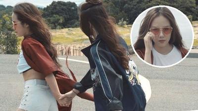 Phương Ly nắm tay tình tứ 'người yêu' Bê Trần trong MV ra mắt