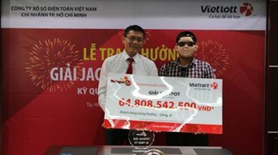 Chủ nhân của giải thưởng xổ số 65 tỷ đồng đã lộ diện, là khách hàng đến từ Đồng Nai