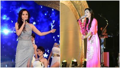 Hồ Quỳnh Hương tất  bật chạy 2 show trong 1 đêm trước khi nghỉ Tết