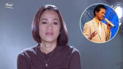 Clip: Con gái Chế Linh tố cáo bị cha bỏ rơi trên sóng truyền hình
