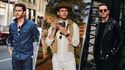 Mỗi ngày mỗi phong cách khác nhau như fashion blogger Adam Gallagher, các chàng học ngay thôi!