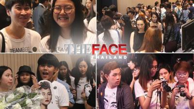 Fan bao vây đông nghịt tại sảnh Chung kết The Face Thailand - An ninh kiểm tra nhiệt độ 100% mới được vào trong
