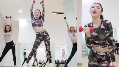 Sexy trong MV chưa đủ, đến Clip Dance Bảo Thy vẫn khoe trọn 'eo con kiến'