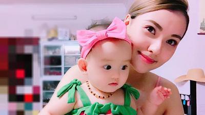 Mới 8 tháng tuổi, con gái Hồng Quế đã đáng yêu và hứa hẹn gây 'bão' showbiz Việt