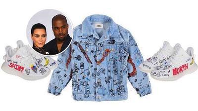 Kim Kardashian, Kanye West tung bộ sản phẩm dành cho trẻ em và tất nhiên không thể thiếu Yeezy