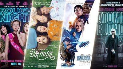 Tuần phim 28/07-03/08: Điệp viên và Ác nữ cùng báo thù Valerian trong tiệc độc thân hội 'đôi mươi'