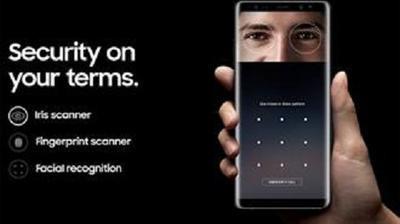 Nhận diện khuôn mặt trên Galaxy Note 8 bị qua mặt chỉ bằng một bức selfie