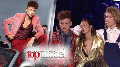 Hot boy 'tàn nhang' 19 tuổi giành giải Quán quân Next Top Model Hà Lan
