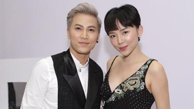 Tóc Tiên đến ủng hộ Mai Tiến Dũng tại bán kết Cặp đôi hoàn hảo