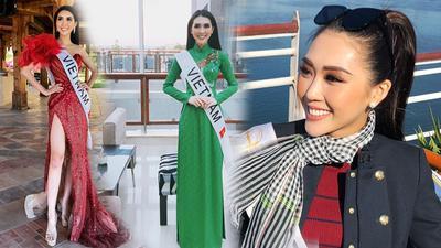 Tường Linh vào Top 10 thí sinh được yêu thích nhất Hoa hậu Liên lục địa 2017