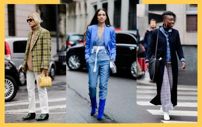 Streestyle tại Milan FW: Thời trang đơn sắc lên ngôi, váy áo kẻ sọc tiếp tục 'oanh tạc'
