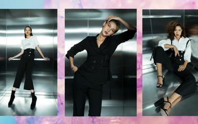 Phí Phương Anh, Diệp Linh Châu đồng loạt khoe ảnh 'đại náo' trong thang máy, ai đẹp hơn ai?