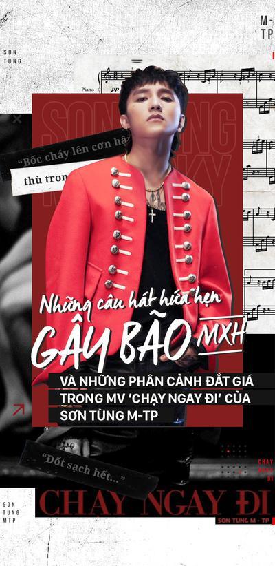 Những câu hát hứa hẹn gây bão mạng xã hội và các phân cảnh đắt giá trong MV 'Chạy ngay đi' của Sơn Tùng