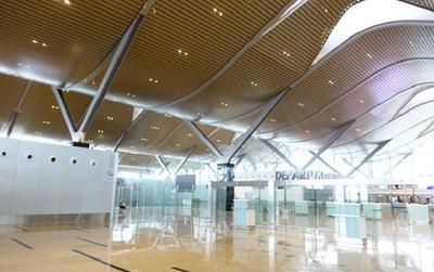 """Ngắm cận cảnh """"tổ yến"""" khổng lồ của sân bay quốc tế Cam Ranh trước ngày khai trương"""