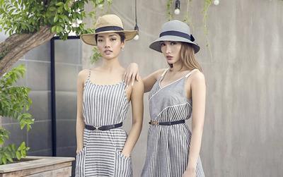Giải Đồng Siêu mẫu Việt Nam 2013 hóa chị em sinh đôi cùng bạn thân với họa tiết hot nhất hè