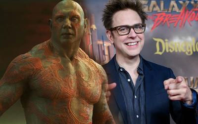 Dave Bautista dọa rút khỏi 'Guardians Of The Galaxy Vol. 3' nếu Disney không sử dụng kịch bản của James Gunn