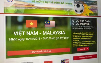 Người hâm mộ Việt Nam có nguy cơ mất Facebook do VFF lỡ viết nhầm website bán vé giả mạo