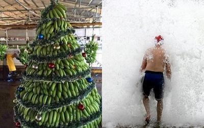 Choáng với những kiểu đón Giáng sinh 'độc nhất vô nhị' trên thế giới