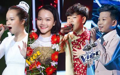 Xúc động với những câu nói 'khắc cốt ghi tâm' của Quỳnh Như, Anh Tuấn, Minh Chiến, Xuân Phương về Giọng hát Việt nhí 2018