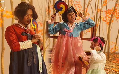 Phát hoảng khi Duy Khánh - Kay Trần giả gái hát 'Thu cuối', nhưng vẫn không đáng sợ bằng Hoàng Phi