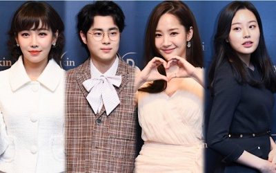 Sao 'SKY Castle' xuất hiện sau tin hẹn hò, Park Min Young khoe dáng chuẩn lấn áp 'ác nữ' Lee Yoo Ri tại sự kiện
