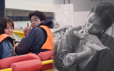 Han Ji Min - Nam Joo Hyuk tận hưởng kỳ du lịch vui vẻ, Song Hye Kyo hôn mèo cưng