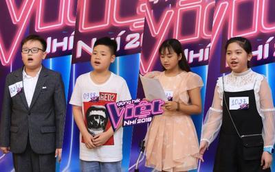 Dàn 'thiên thần nhí' đổ bộ xuống vòng tuyển sinh cuối cùng của The Voice Kids 2019