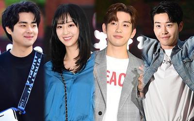 Tiệc liên hoan 'Thám tử đọc tâm': Vắng mặt nữ chính, Jinyoung (Got7) tỏa sáng bên Dasom (Sistar)
