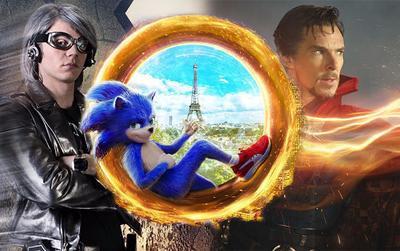 Không chỉ nhanh như Quicksilver, Sonic còn có thể tạo cổng dịch chuyển như Doctor Strange?