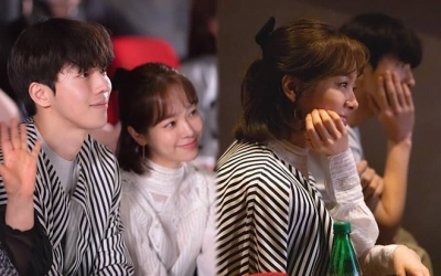 Han Ji Min mặc áo của Nam Joo Hyuk, liệu có mối tình chị em chênh lệch 12 tuổi trong K-biz?