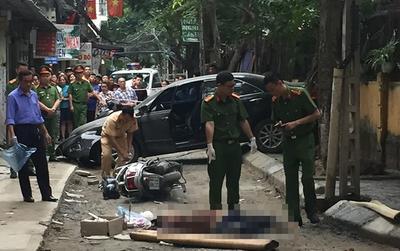 Hé lộ nguyên nhân nữ tài xế lùi xe tông chết người ở Hà Nội