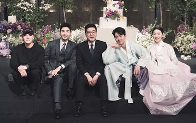 Lộ ảnh Ji Chang Wook - Son Hyun Joo dự đám cưới của diễn viên 'Haechi'