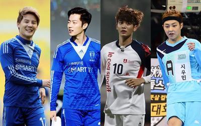 TOP 10 sao K-biz có tinh thần thể thao như cầu thủ bóng đá 2019: Yoon Doo Joon áp đảo mọi idol