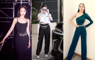 Hương Giang, Châu Bùi, Ngọc Trinh và Phượng Chanel đụng hàng: Chiếc dây lưng 50 triệu đồng liệu có cùng số phận?