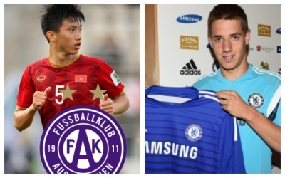 Sang Áo, Văn Hậu sẽ phải cạnh tranh vị trí với cựu sao Chelsea