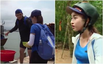 Hoa hậu Đỗ Mỹ Linh lại bị chê vì tính cách tiểu thư vì để Lê Xuân Tiền một mình 'cân team'