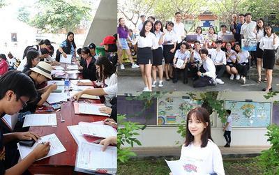 Hàng ngàn tân sinh viên làm thủ tục nhập học tại ĐH Khoa học Xã hội & Nhân văn TP.HCM