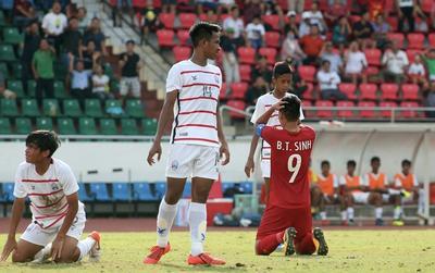 Chia tay U18 Đông Nam Á, Việt Nam có 63 lần phạm lỗi